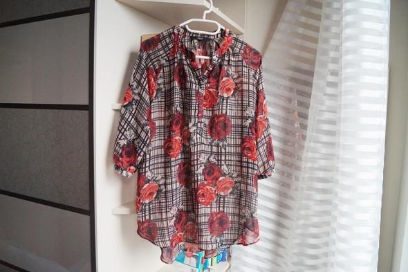 Koszule Koszula w róże Next XL