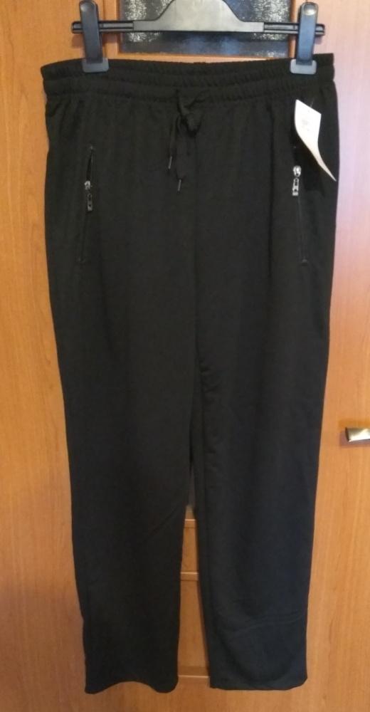 Nowe męskie czarne spodnie dresowe od dresu XXL