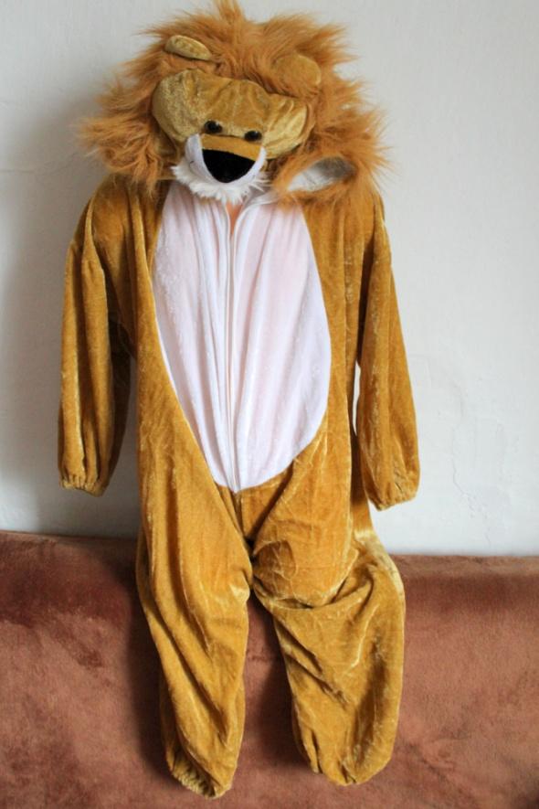 Przebranie kostium karnawałowy lew r 104
