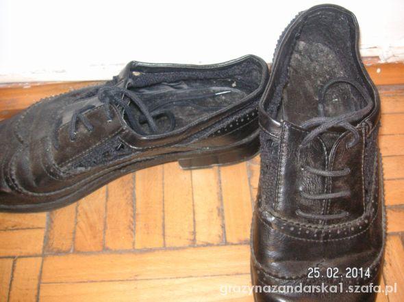 Czarne buty jazzówki 38