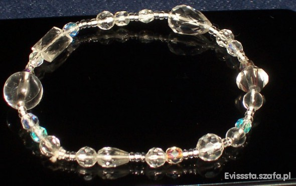 Krystaliczna bransoletka