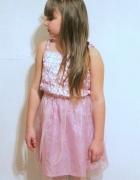 Strój karnawałowy przebranie kostium sukienka r 116128...