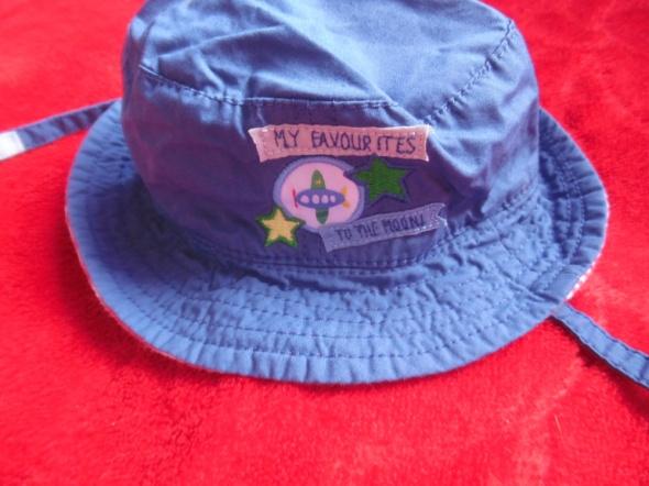 kapelusz dla chłopca 0 do 3 m