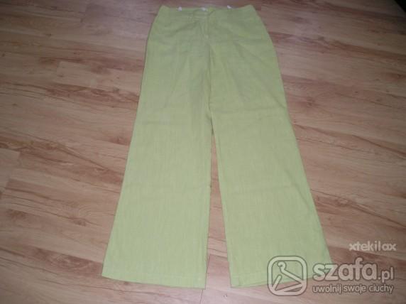 Lniane spodnie rozmiar M...
