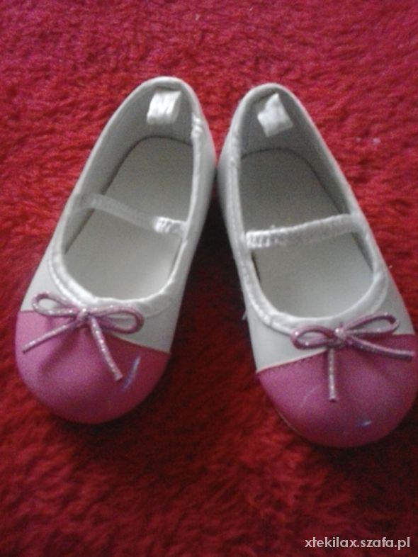 Buciki dla dziewczynki r18 19 H&M