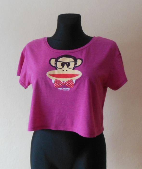Paul Frank koszulka croptop róż 36 38...