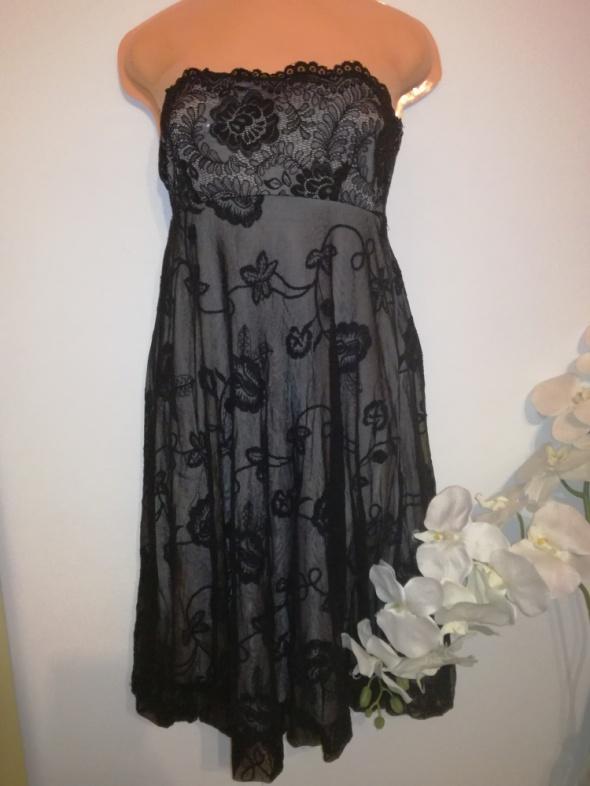 Suknia sukienka VILA rozmiar 38 M koronkowa zwiewna