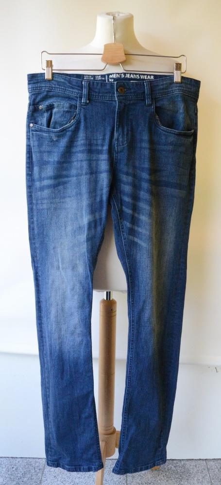 Spodnie Men Jeans Slim Moderm 48 Livergy