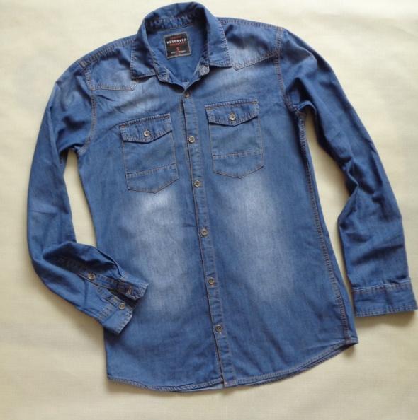 RESERVED dżinsowa koszula S 175 185