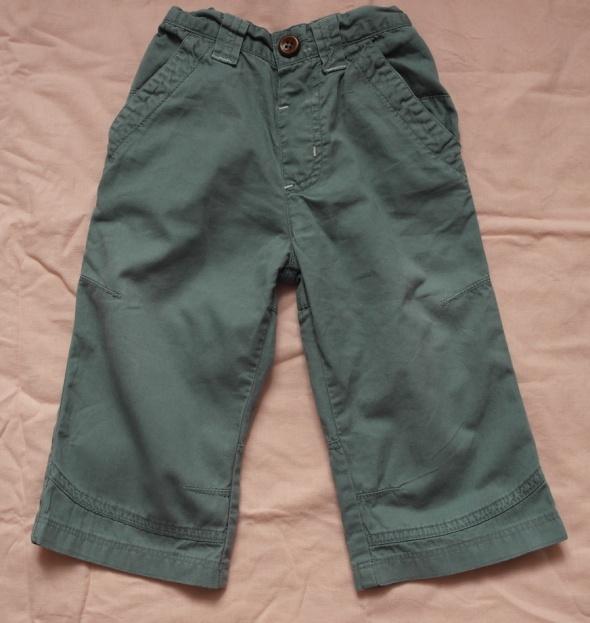 Spodnie cienkie morski kolor 80