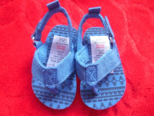 Sandałki dla chłopca F&F