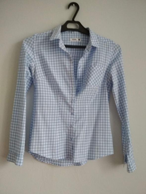 elegancka koszula bluzeczka w kratkę