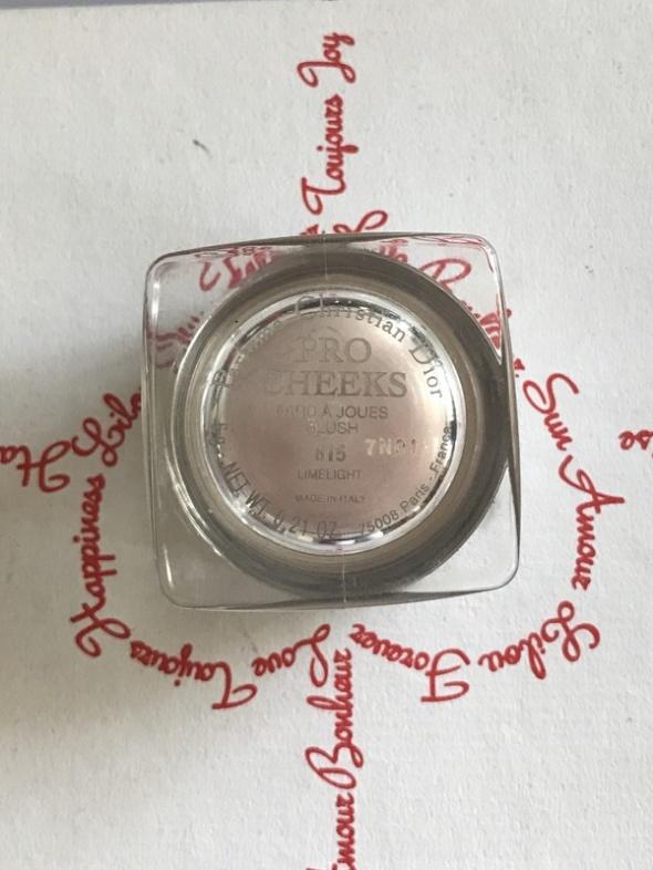 Dior Pro Cheeks Ultra Radiant Blush 815 Limelight