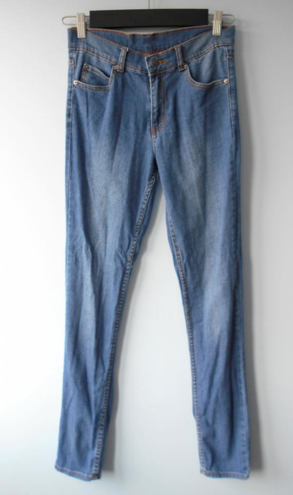 Cheap Monday jeansy rurki spodnie wysoki stan high...