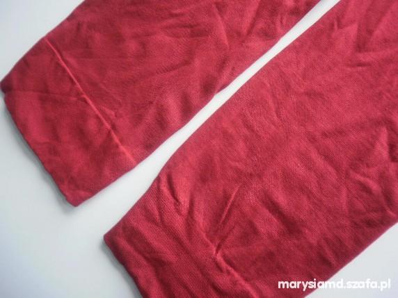 czerwone podkolanówki