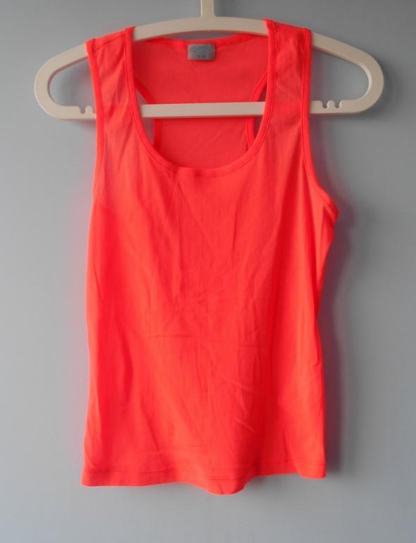 Oasis neonowa bokserka neon orange na ramiączkach...