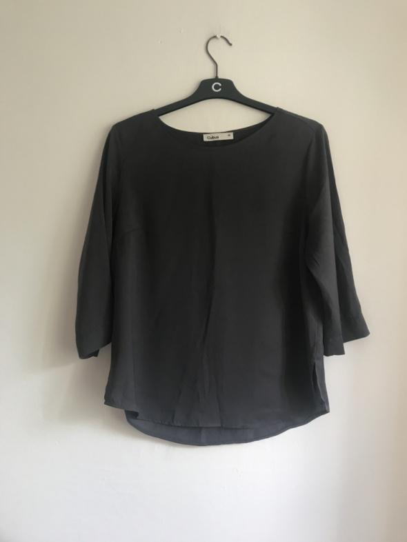 Elegancka klasyczna bluzka 3 4 Cubus M szara...
