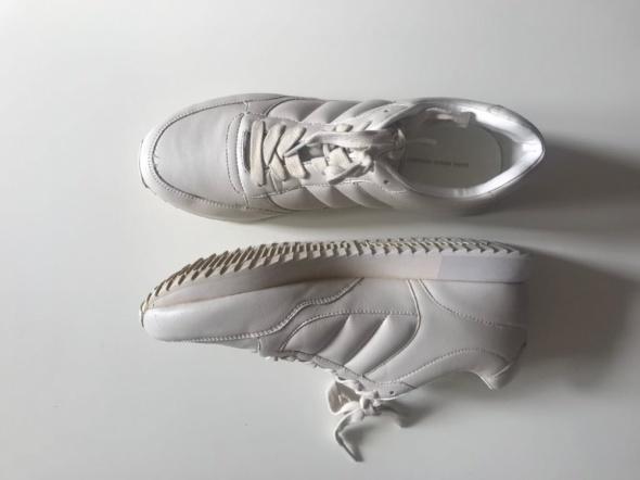 Białe adidasy buty sportowe sneakersy zara 40