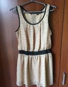 Sukienka tunika w króliczki