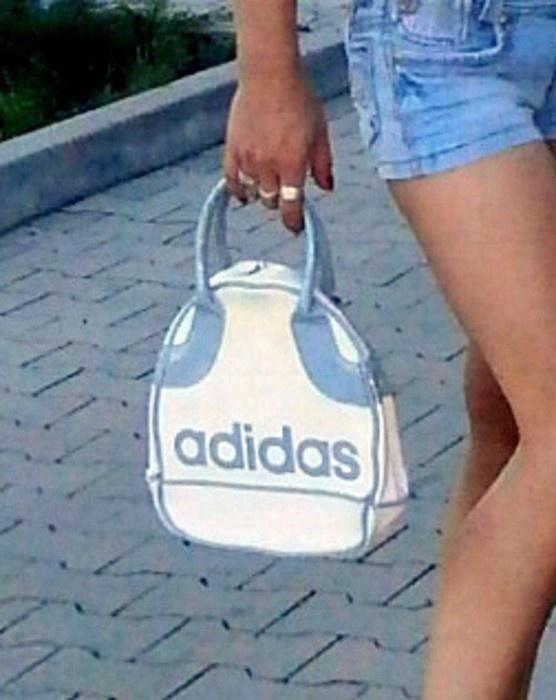 torebka Adidas biała szara adidas adidas...
