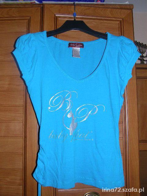 Niebieska bluzeczka z kotkiem M...