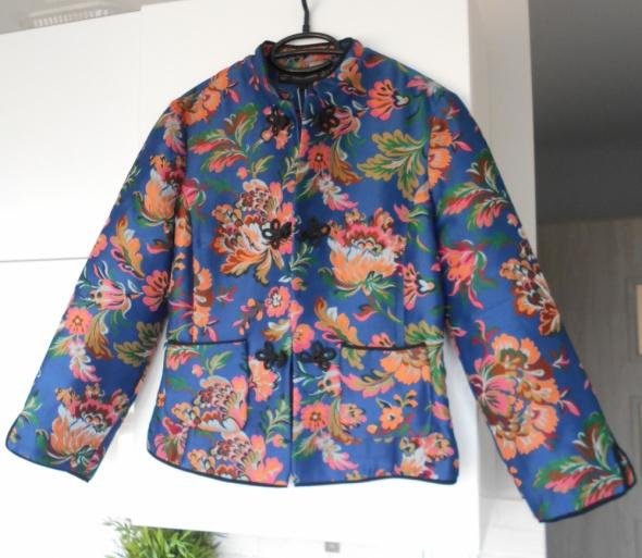 Zara nowa marynarka żakiet kwiaty floral