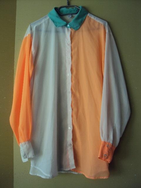 trójkolorowa koszula