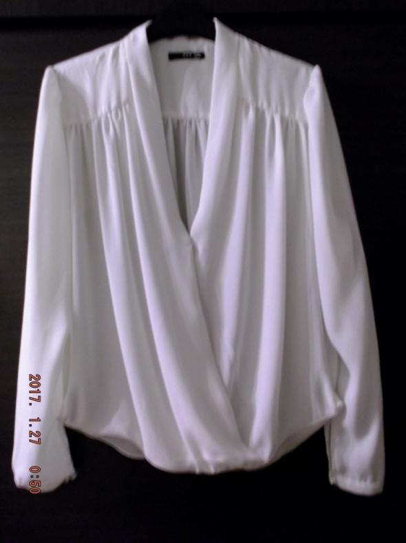 TFNC Koszula mgiełka z kopertowym przodem L