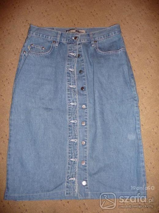 Spódnica jeansowa...