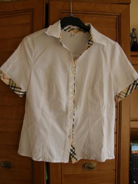 Nowa biała bluzeczka dla puszystej 46