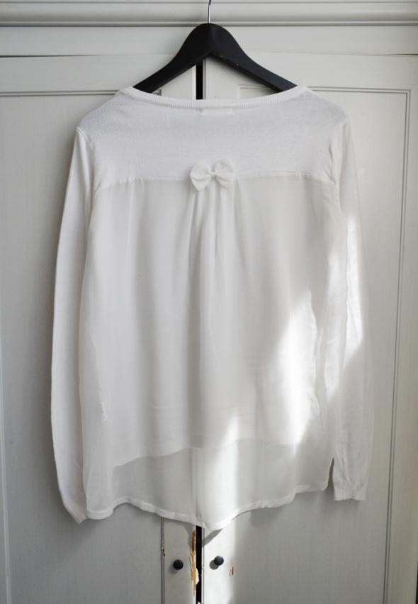 Sweter oversize tył mgiełka S M L 36 38 40