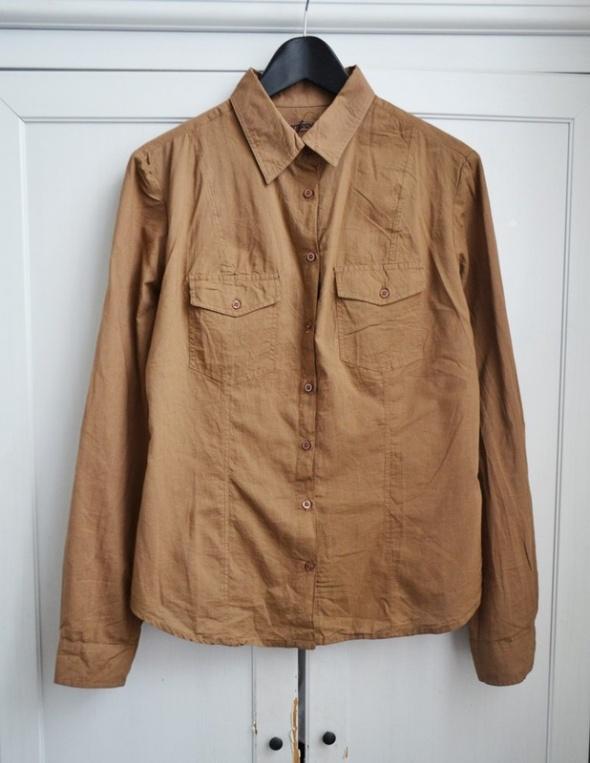 Nowa koszula camel karmel L 40