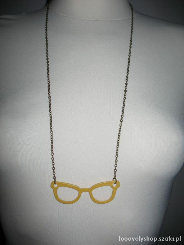 Nowy naszyjnik okulary wysyłka gratis