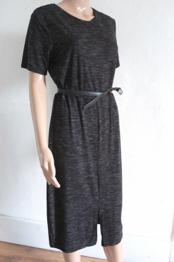 Sportowa sukienka midi melanaż r XL