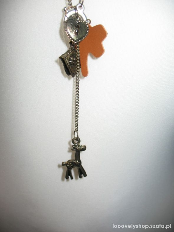 Nowy naszyjnik żyrafa