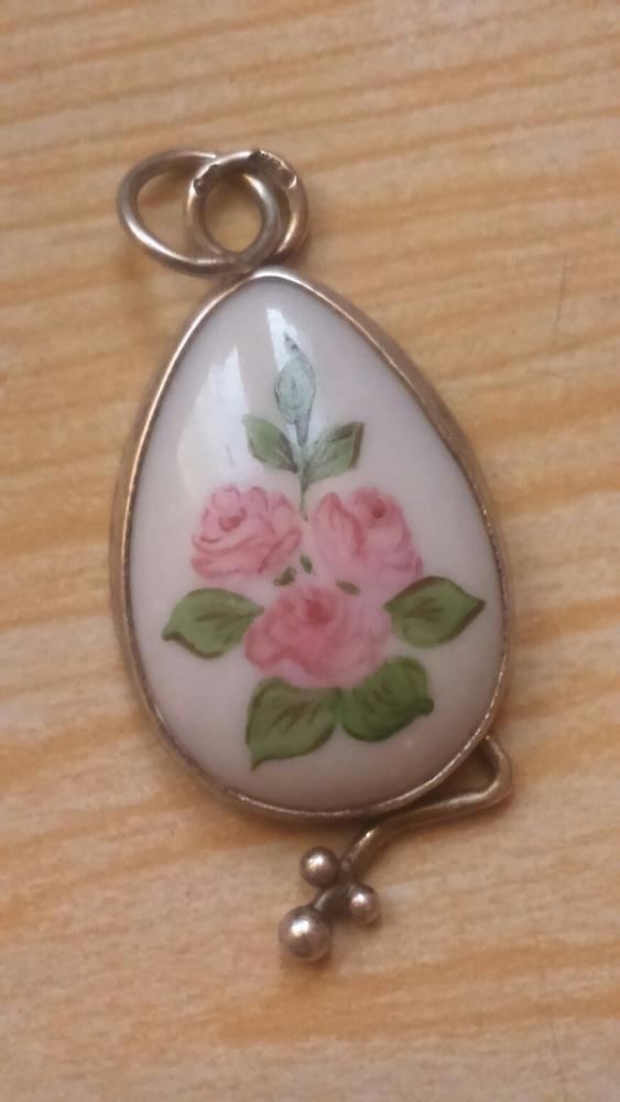 Porcelanka różowa