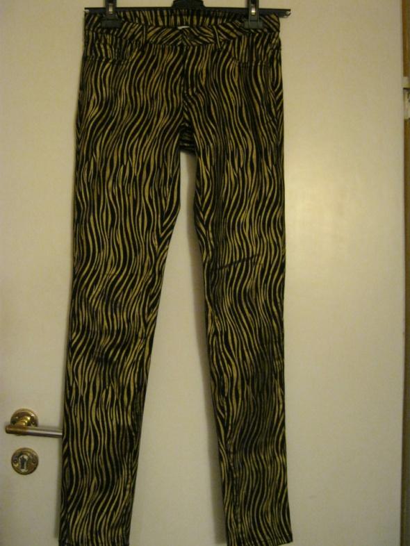 Spodnie Złote spodnie