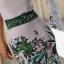 Sukienka asymetryczna pasek z cyrkoniami