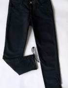 spodnie rurki CROPP sznurowane wiązane nogawki S...