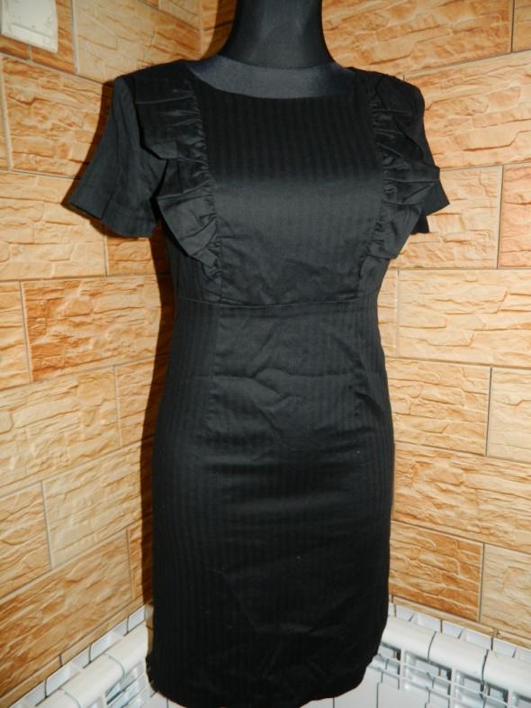 VILA elegancka czarna sukienka roz 36
