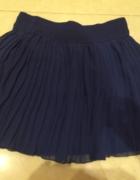 Granatowa plisowana spódnica TERRANOVA XS...