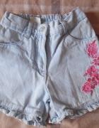 Krótkie jeansowe spodenki Palomino 98...