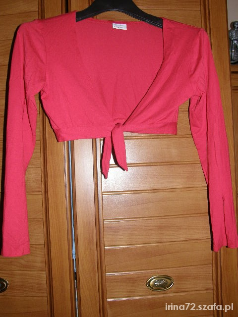 NEXT piekne czerwone bolerko 12 lat 152 cm