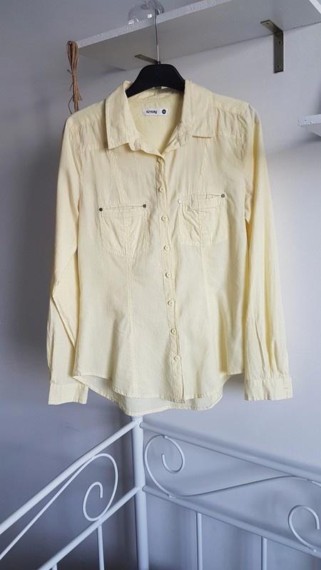 Sinsay koszula cytrynowa pastel