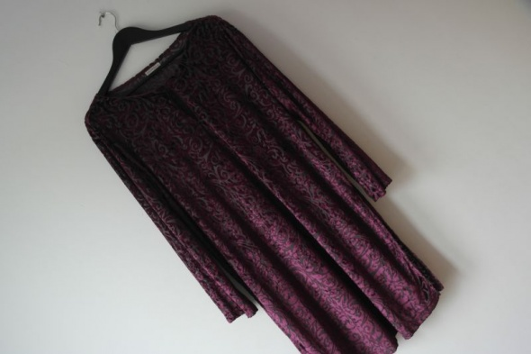 Essence tunika fiolet haftowana przyjemny materiał...