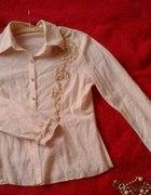 Fajna bluzka koszulowa S...