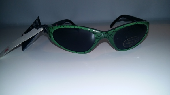 Dodatki Okulary przeciwsłoneczne Spiderman