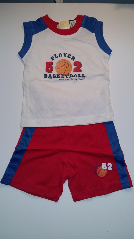 Modny komplet chłopięcy basketball...
