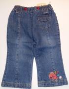 Jeansy dziewczęce...