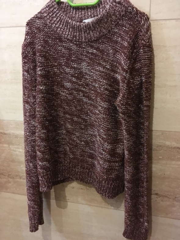 brązowy sweter clockhouse 36 S...